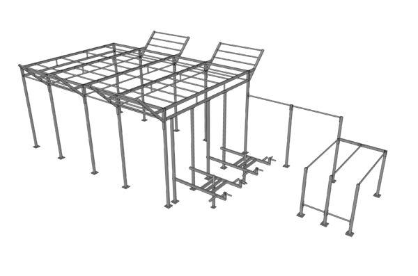 Crossfit rack RCS 009-013
