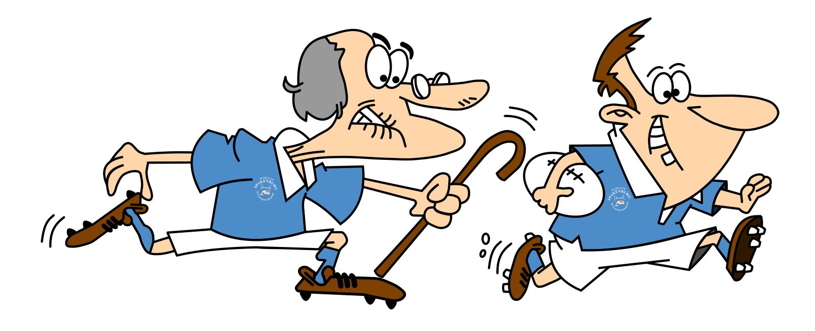 Oud vs Jong - logo