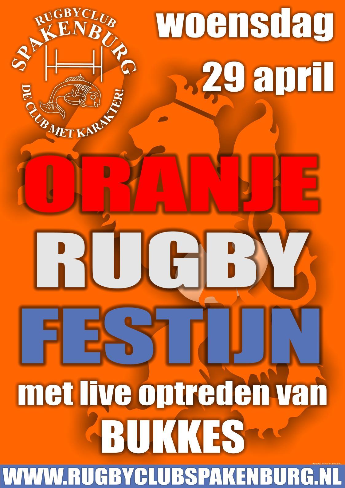 Het Oranje Rugby Festijn 2009