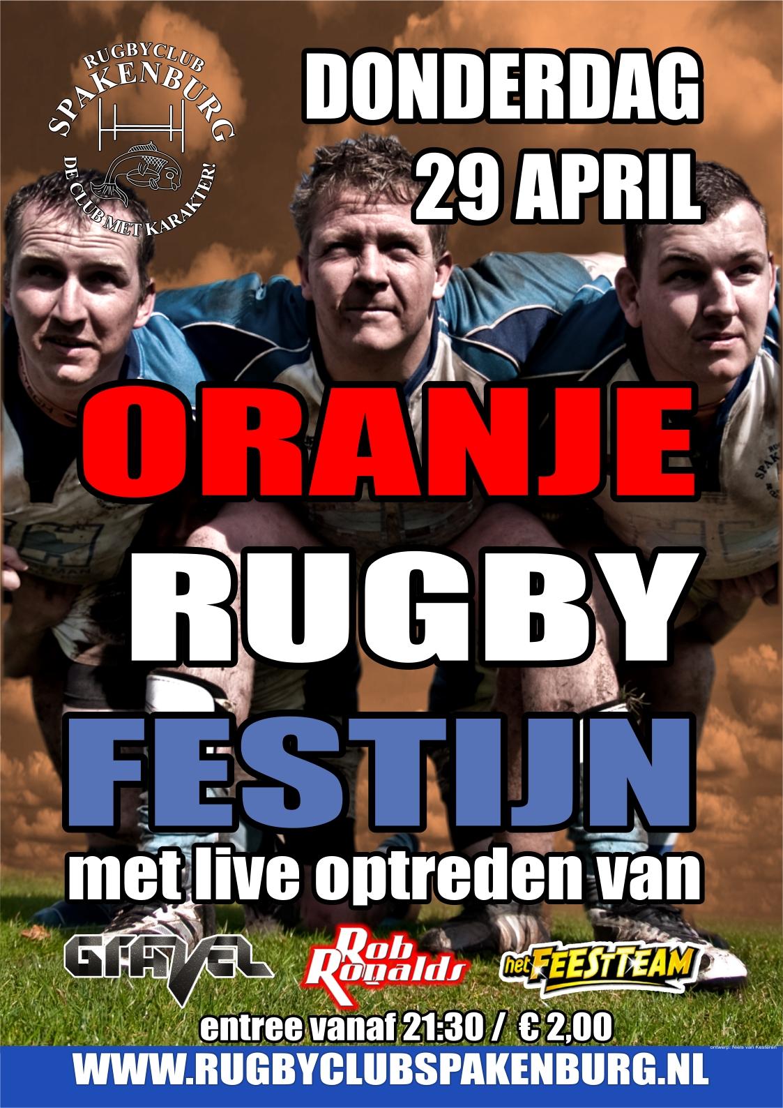 Het Oranje Rugby Festijn 2010
