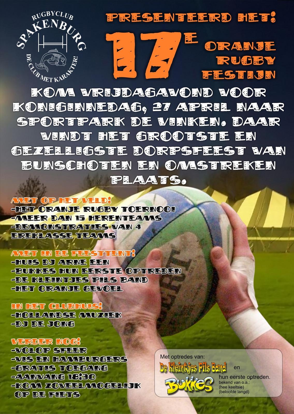 Het Oranje Rugby Festijn 2007